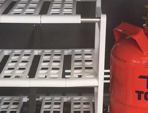 Gasgrill: Platz neben der Gasflasche nutzen