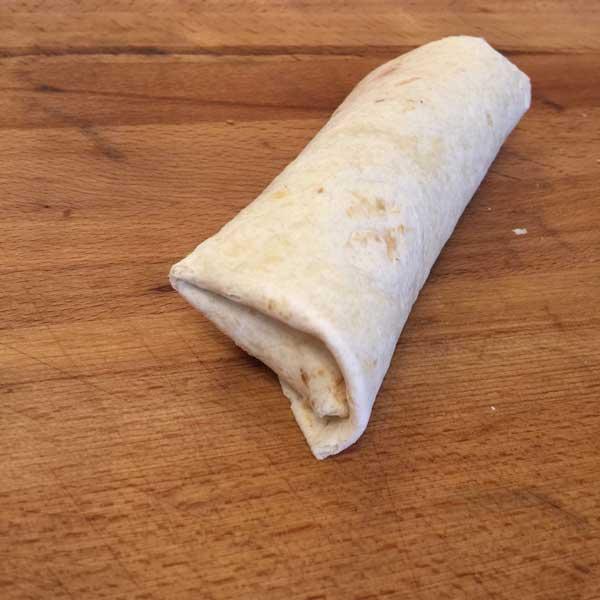 Tortilla ist fertig