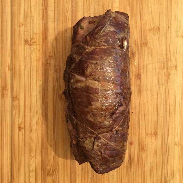 Flank Steak Rolle - Gegrillt