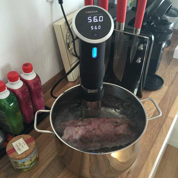 Flank Steak Rolle - Sous Vide