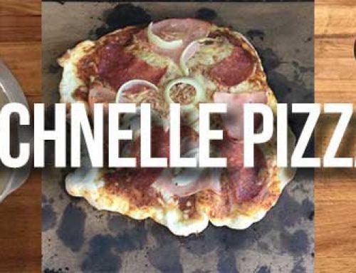 Schnelle Pizza vom Grill