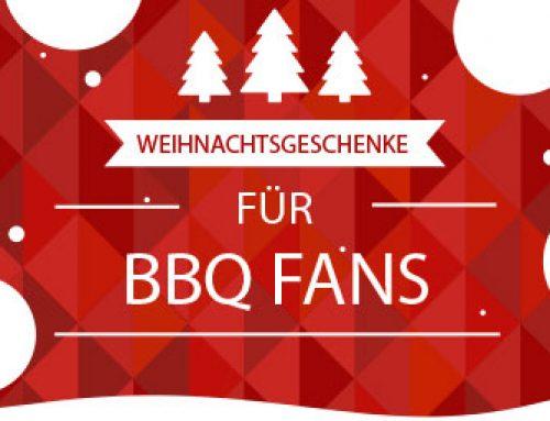 Weihnachtsgeschenke für BBQ Fans