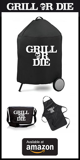 GRILL OR DIE Banner