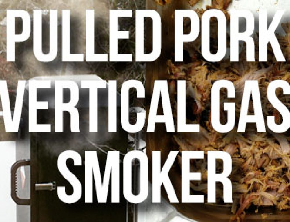 Pulled Pork vom Broil King Vertical Gas Smoker