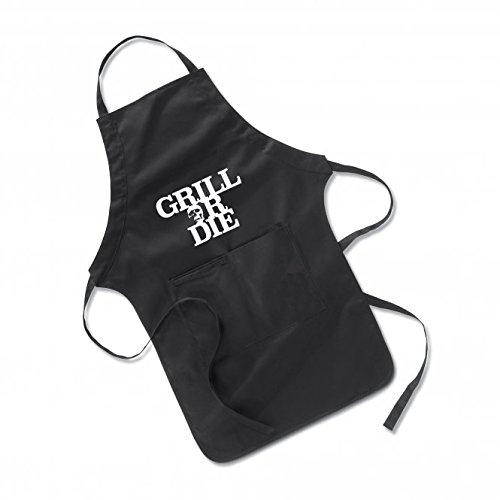 GRILL OR DIE Grillschürze