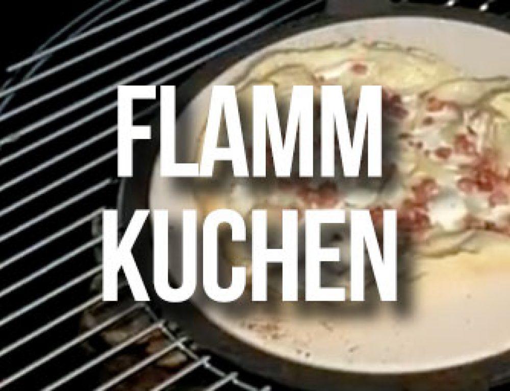 Flammkuchen vom Pizzastein