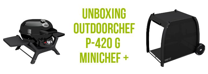 P-420 G Minichef+ Aufbau