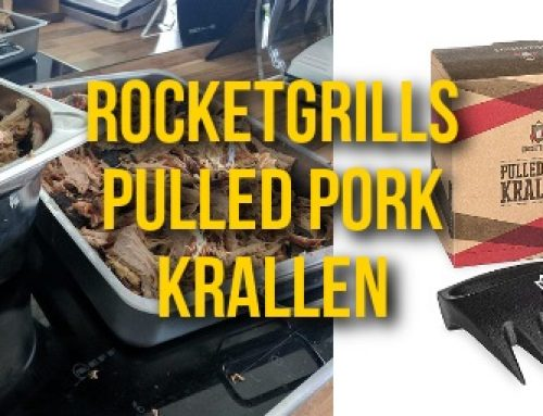 Rocketgrills Pulled Pork Krallen