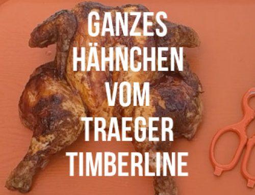 Ganzes Hähnchen vom Traeger Timberline 850