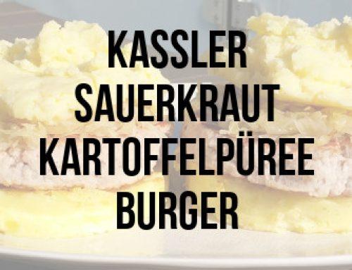 Kassler-Sauerkraut-Kartoffelpüree-Burger